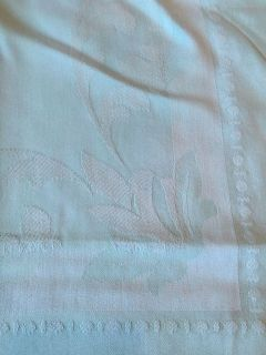 Mint colored table cloth