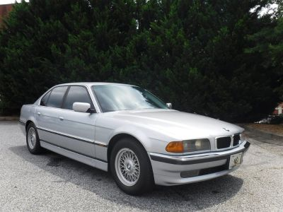 1998 BMW 7-Series 740i (Silver Or Aluminum)