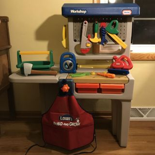 Little Tikes Workbench with Tools & Accessories