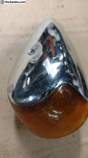 complete front turn signal assy 63-69