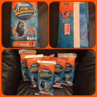 Huggies Little Swimmers Disposable Swimpants - Size Medium - New In Package