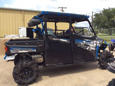 2017 Polaris Ranger Crew XP 1000 EPS High Lifter Edition Side x Side Utility Vehicles Lancaster, TX
