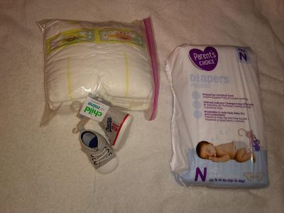 Pampers also have baby clothes for sale