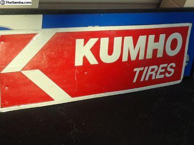 Kumho Tire Sign