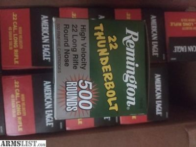 For Sale: .22 ammo