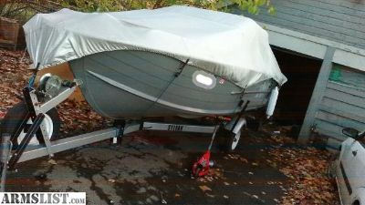 For Sale: 16' Sylvan aluminum boat