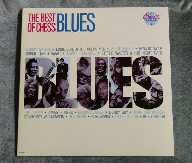 The Best of Chess Blues - CHESS CH2-6023 2 LP 1987 MUDDY WATERS HOWLIN' WOLF ETC NM