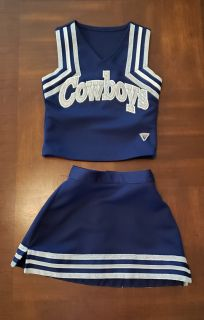 Cowboys 4T/5T Cheerleader outfit