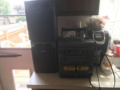 Used Aiwa Stereo/CD/Radio/Cassette Player!!