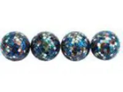 Benzara Shiny Discotheque Mosaic Ball PVC Box Set
