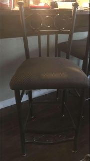 Two chairs, used for my kitchen island