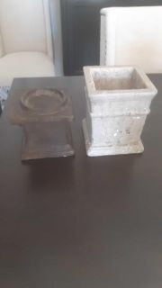PLANTER AND CANDLE HOLDER