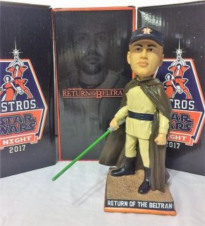 "ASTROS STAR WARS ""Return of the Beltran"" Bobblehead - NEW IN BOX - Call Now!"