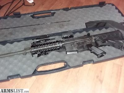For Sale: AR-15 with lots of extras
