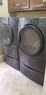 Front Loading Washer & Gas Dryer