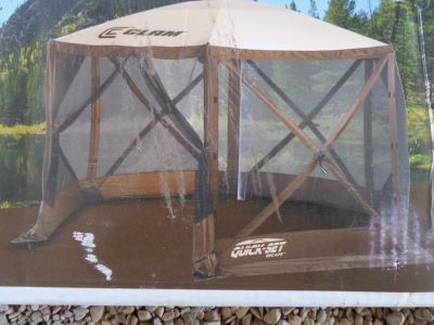 CANOPY CAMPING PARTY APPROX 12' NEW Quick-Set Clam Screen Shelter set-up 45 seconds EASY