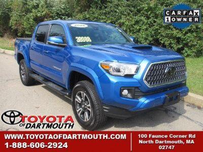 2018 Toyota Tacoma TRD Sport (Blazing Blue Pearl)