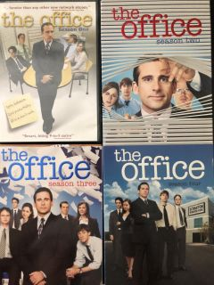 The Office seasons 1, 2, 3, and 4