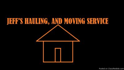 Moving and Hauling Service