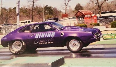 10 second 1978 Chevy powered Pinto