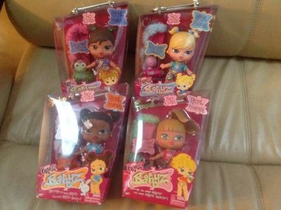 Baby bratz collection dolls and accessories