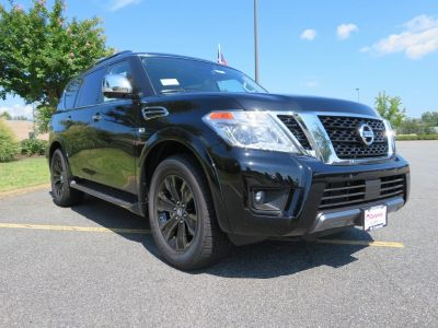 2019 Nissan Armada (Super Black)