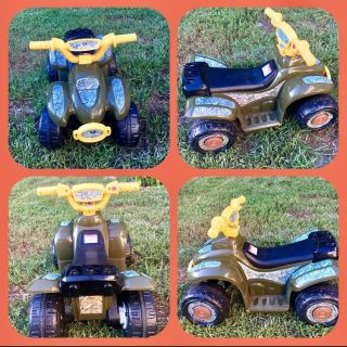 Toddler Mossy Oak quad-ride on