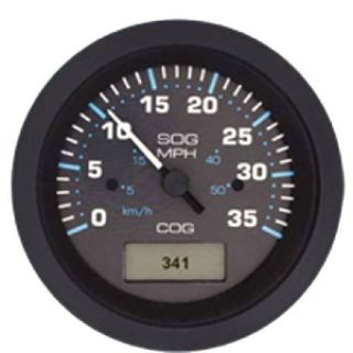 Sell Teleflex #781684080p - 80 Mph - Gps Speedometer Gauge motorcycle in Largo, Florida, United States, for US $118.89