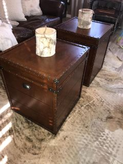 End tables or coffee table
