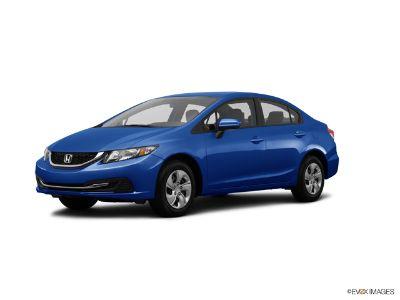 2014 Honda Civic LX (Dyno Blue Pearl)