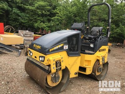 2017 Bomag BW120SL-5 Vibratory Double Drum Roller
