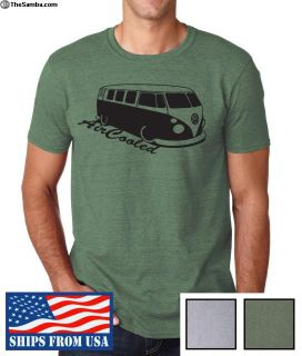 Volkswagen Beetle T-Shirt AIRCOOLED BUS XMAS GIFT