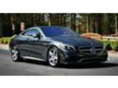 2016 Mercedes-Benz S-Class S63 AMG 4MATIC Coupe 2016 Mercedes Benz S63 AMG