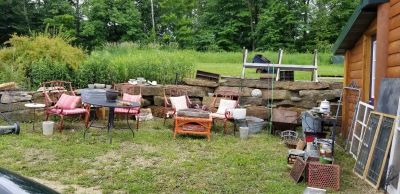 Garden Shed clean out Sale one day only Sat. June 22