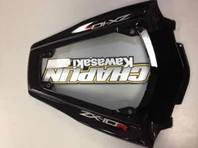 Find New OEM Kawasaki zx10 zx10R Ninja 2011 rear tail section cowling fairing decals motorcycle in Chaplin, Connecticut, United States, for US $135.00