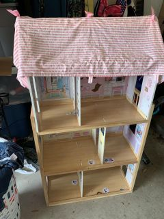 Large wood Doll house $30 Dove Crossing