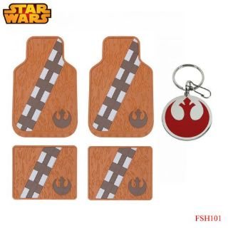 Sell New 5pc Set Star Wars Chewbacca Car Truck Front Rubber All Weather Floor Mats motorcycle in Monrovia, California, United States, for US $58.94