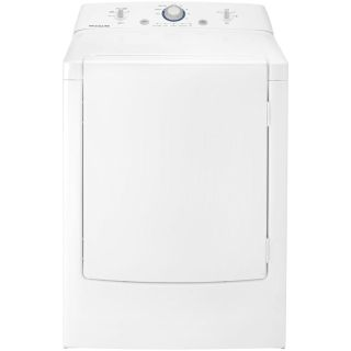 "Frigidaire 27"" Wide Gas Dryer 7 cu ft 8 Cycles 4 Temp Selection New"