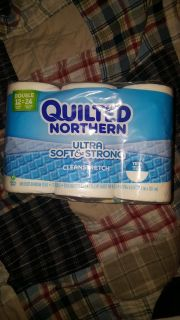 Quilted northern 12 double rolls