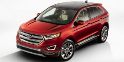 2018 Ford Edge Titanium (WHITE GOLD)