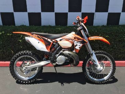 2012 KTM 250 XC-W Competition/Off Road Motorcycles Costa Mesa, CA