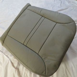 Sell 2000-01 FORD Excursion V10 XLT Passenger side Bottom Leather Seat Cover GRAY motorcycle in Houston, Texas, United States, for US $185.00