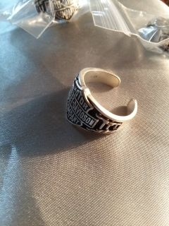 HD Sterling Silver sizeable Rings rings by Class Act