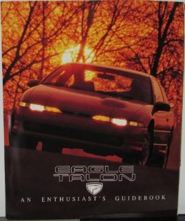 Buy 1990 Eagle Talon & TSi & TSi AWD Color Sales Brochure Guidebook By Jeep Original motorcycle in Holts Summit, Missouri, United States