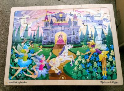 Wooden Toddler Puzzle by Melissa and Doug