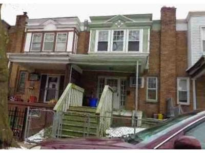3 Bed 1 Bath Foreclosure Property in Camden, NJ 08104 - N Congress Rd
