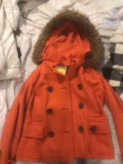 delia s limited collection fall coat