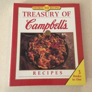 Cookbook- Treasury of Campbell's Recipies