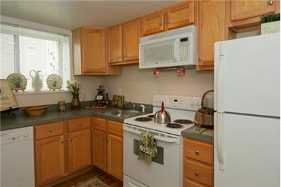 2 bedrooms - Every apartment features a brand new kitchen with a dishwasher, disposal. Cat OK!