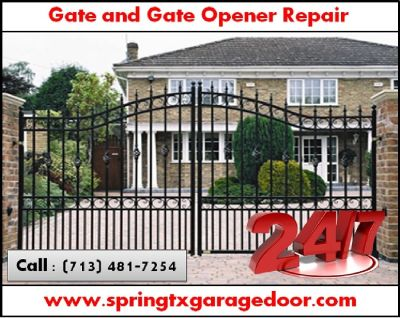 New Gate Installation and Gate Repair | Spring, Houston